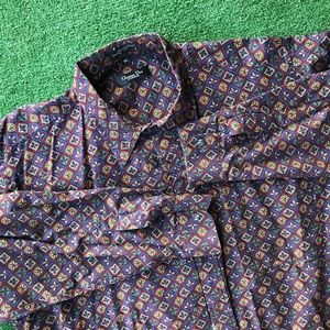 Christian Dior Long Sleeve Button Front down XL